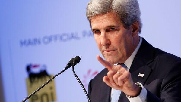 ABD Dışişleri Bakanı John Kerry, Brookings Enstitüsü Saban Forumu'nda konuştu - Sputnik Türkiye