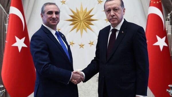 Eitan Naeh - Recep Tayyip Erdoğan - Sputnik Türkiye