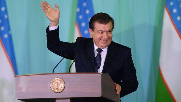 Özbekistan Devlet Başkanı Şevket Mirziyoyev - Sputnik Türkiye