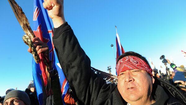 Kuzey Dakota yerliler - Sputnik Türkiye