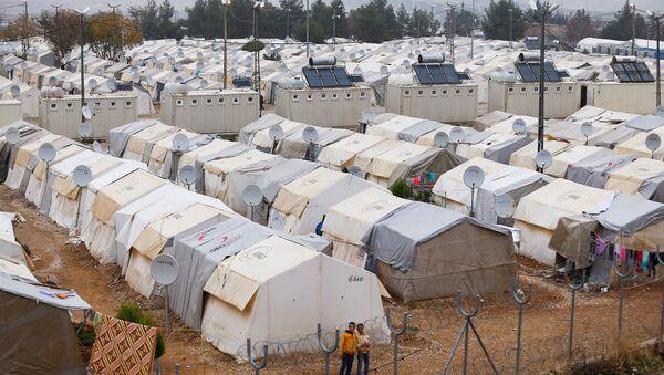 Gaziantep'teki Nizip sığınmacı kampı / Suriyeli sığınmacılar - Sputnik Türkiye
