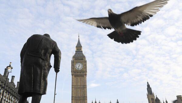 İngiltere parlamentosu / Winston Churchill - Sputnik Türkiye