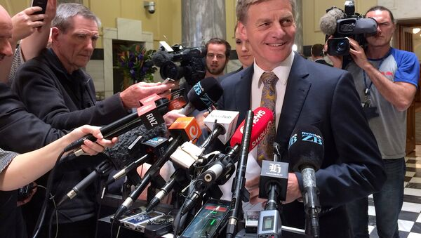 Yeni Zelanda'da Başbakan adaylarından Bill English - Sputnik Türkiye