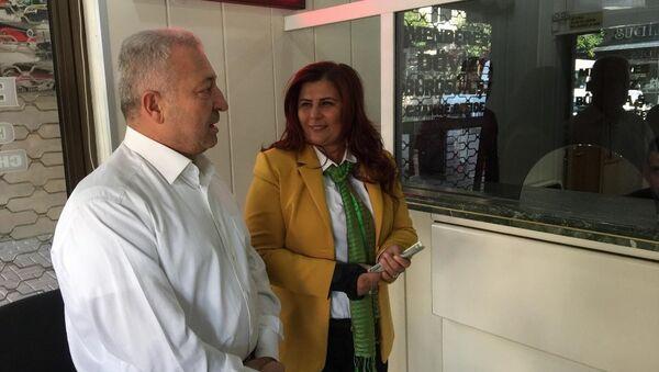 Aydın Büyükşehir Belediye Başkanı CHP'li Özlem Çerçioğlu - Sputnik Türkiye