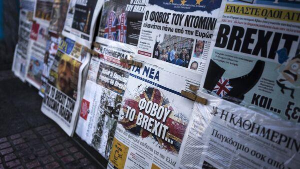 Yunan basını / Yunanistan gazeteleri - Sputnik Türkiye