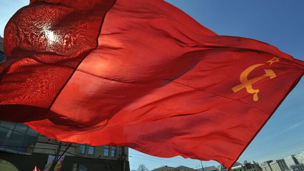 Sovyet Sosyalist Cumhuriyetler Birliği bayrağı - Sputnik Türkiye