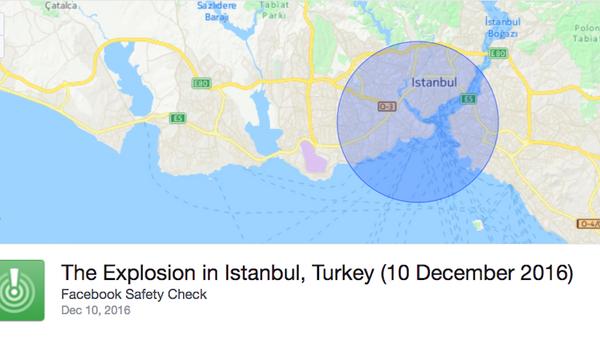 Facebook'tan İstanbul için 'güvenlik' butonu - Sputnik Türkiye