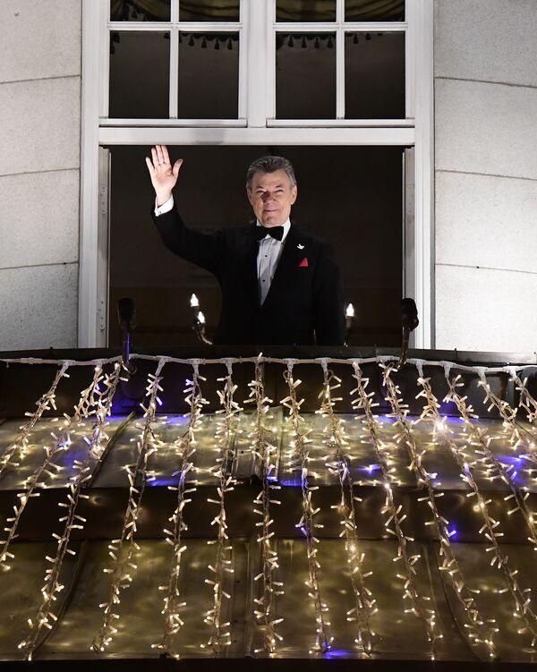 Kolombiya Devlet Başkanı Juan Manuel Santos, aldığı Nobel Barış Ödülü'nü 'tanrının bir lütfu' olarak niteledi. - Sputnik Türkiye