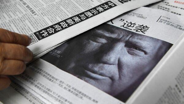 Trump'ın tavrı Çin medyasında sert şekilde eleştirildi - Sputnik Türkiye