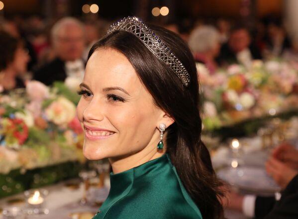 İsveç Prensi Carl Philip ile evleneyerek ülkenin yeni prensesi olan Sophia Hellqvist - Sputnik Türkiye