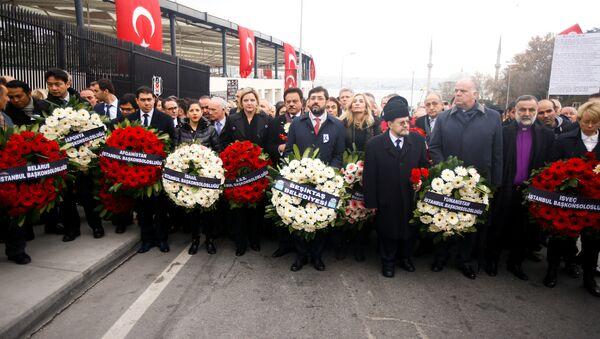 Yabancı diplomatlar, Beşiktaş'taki saldırılarda hayatını kaybedener - Sputnik Türkiye