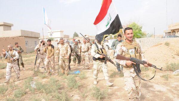 Irak ordusu ve Haşdi Şabi milisleri - Sputnik Türkiye