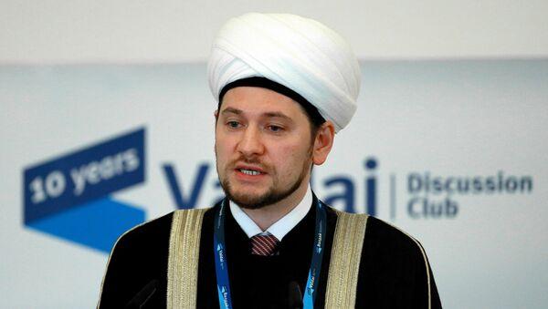 Rusya Müftüler Konseyi Başkan Birinci Yardımcısı Damir Muhetdinov - Sputnik Türkiye