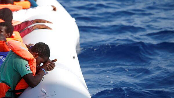 Sığınmacı- Libya- Akdeniz - Sputnik Türkiye