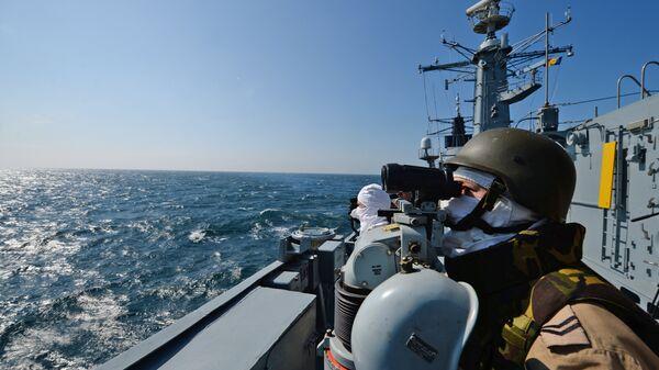 Karadeniz'deki NATO görevine katılan Romanya fırketeyni 'Regina Maria' - Sputnik Türkiye