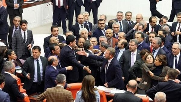 TBMM kavga - Sputnik Türkiye