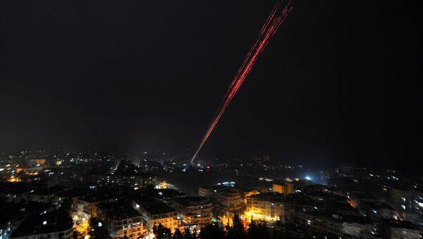 Halep'te kutlamalar başladı - Sputnik Türkiye