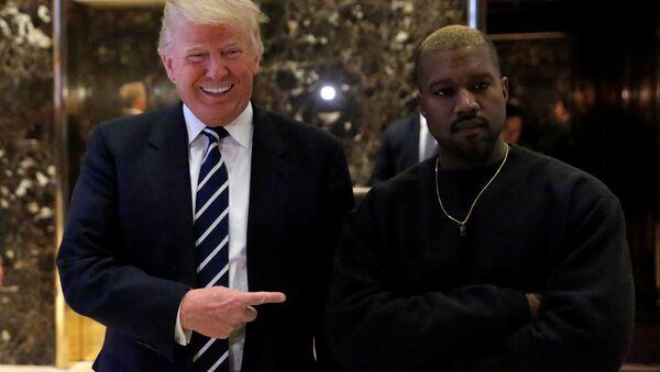 Donald Trump - Kanye West - Sputnik Türkiye