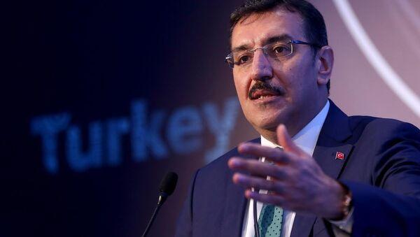 Gümrük ve Ticaret Bakanı Bülent Tüfenkci - Sputnik Türkiye