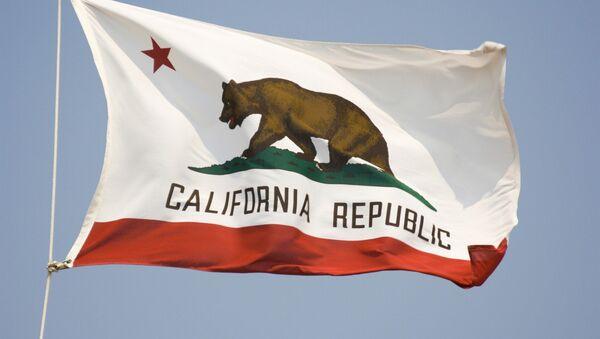 Kaliforniya eyaletinin bayrağı - Sputnik Türkiye
