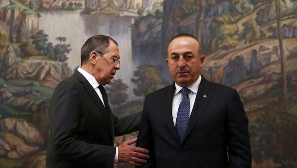 Rusya Dışileri Bakanı Lavrov ve Türkiye Dışişleri Bakanı Çavuşoğlu - Sputnik Türkiye