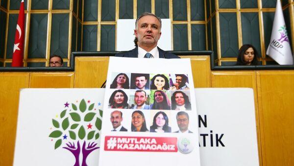 HDP Sözcüsü Ayhan Bilgen - Sputnik Türkiye