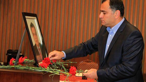 Çankaya Belediye Başkanı Taşdelen'den Rusya Büyükelçiliği'ne taziye ziyareti. - Sputnik Türkiye