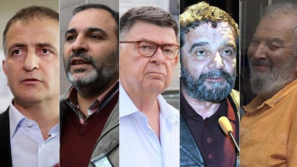 Ekrem Dumanlı, Bülent Keneş, Şahin Alpay, Mümtaz Türköne ve Ahmet Turan Alkan - Sputnik Türkiye