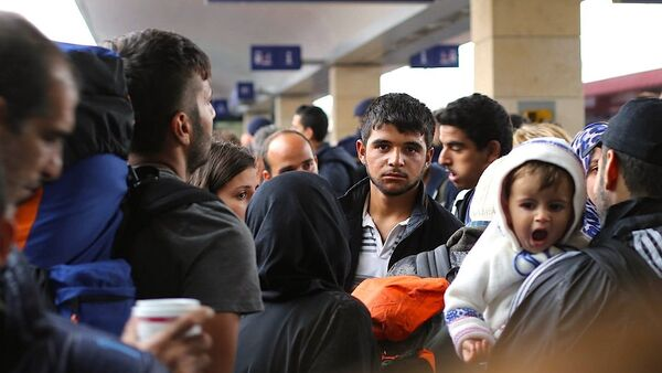 Avrupa'daki sığınmacılar - Sputnik Türkiye