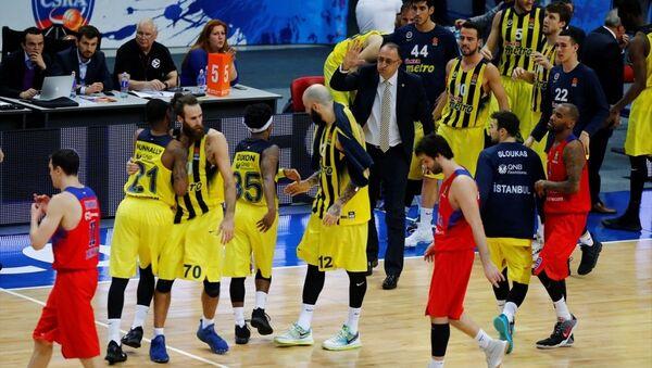 CSKA Moskova - Fenerbahçe - Sputnik Türkiye