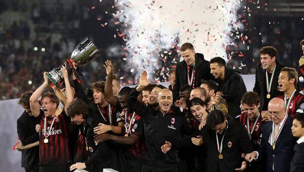 İtalya Süper Kupası - Milan - Sputnik Türkiye