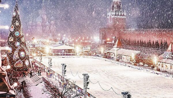 Moskova'da kış masalı - Sputnik Türkiye