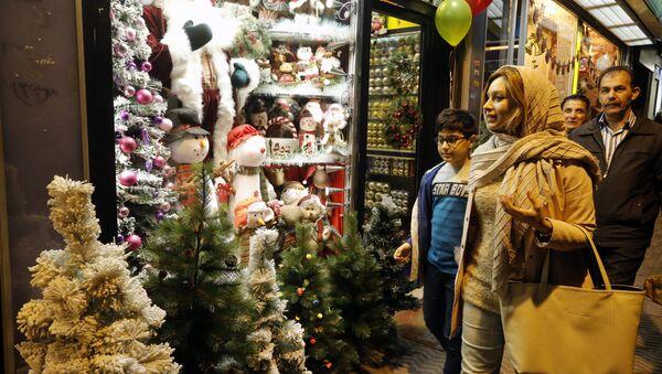 Tahran'da Noel - Sputnik Türkiye