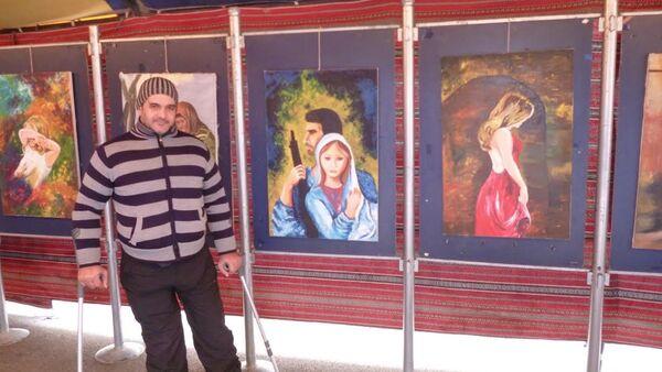 Suriyeli ressam Şadi Süleyman ve eserleri - Sputnik Türkiye