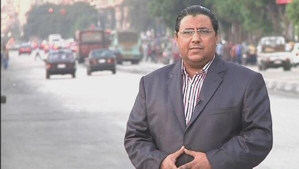 Al Jazeera haber müdürü Mahmud Hüseyin - Sputnik Türkiye