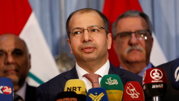 Irak Meclis Başkanı Selim el Cuburi - Sputnik Türkiye