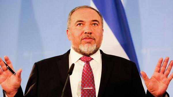 Israeli Foreign Minister Avigdor Lieberman - Sputnik Türkiye
