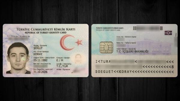 Yeni çipli kimlik kartları - Sputnik Türkiye