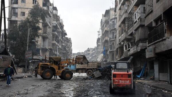 Halep- Suriye - Sputnik Türkiye