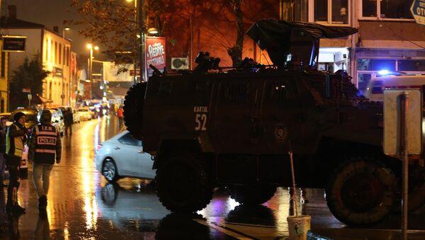 Reina'da silahlı saldırı - Sputnik Türkiye