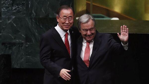 Antonio Guterres - Ban Ki-mun - Sputnik Türkiye