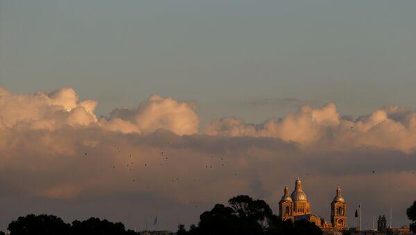 Malta'nın başkenti Valletta'daki Mesih Kral Kilisesi - Sputnik Türkiye