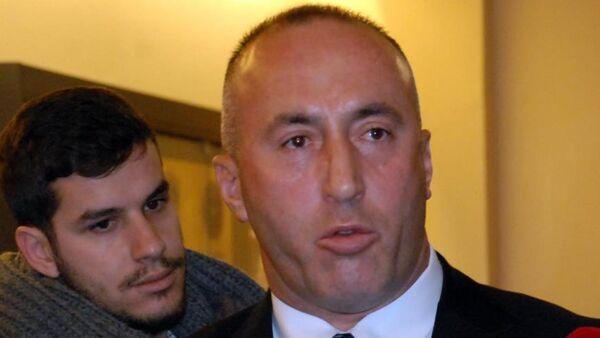 Eski Kosova Başbakanı Ramush Haradinaj - Sputnik Türkiye