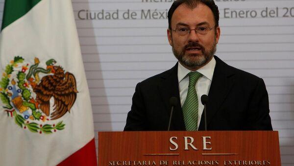 Meksika'nın yeni Dışişleri Bakanı Luis Videgaray - Sputnik Türkiye