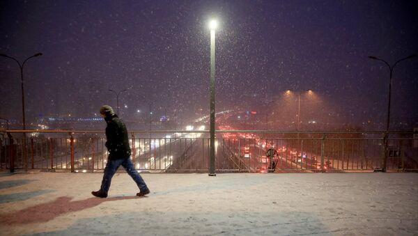 İstanbul'da kar - Sputnik Türkiye