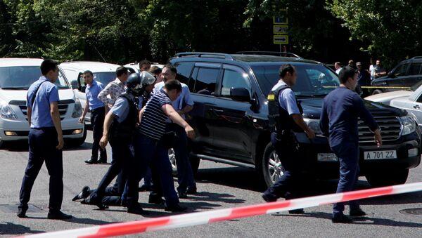 Kazakistan polisi - Sputnik Türkiye