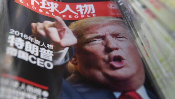 Trump, Çin medyasında sıklıkla konu oluyor - Sputnik Türkiye