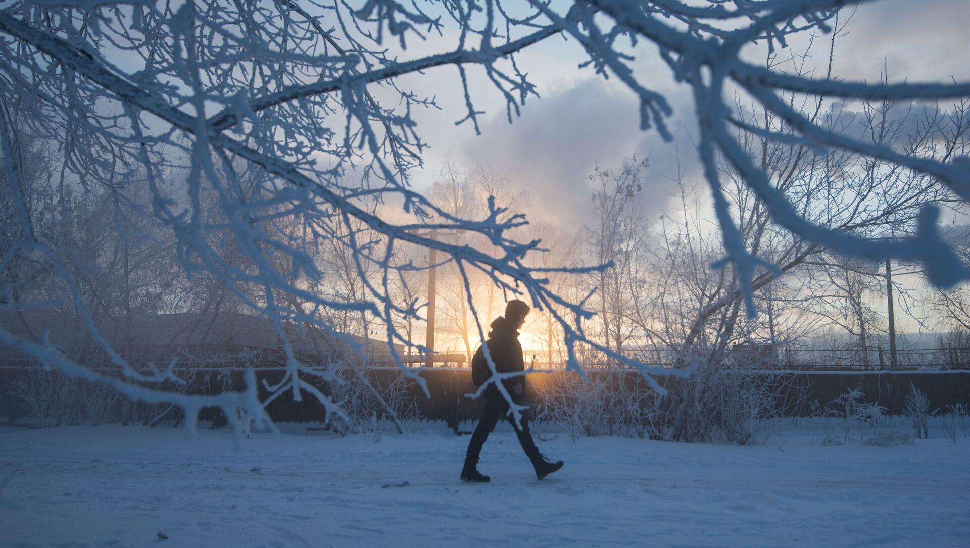 Moskovalılar kışın en soğuk günlerini yaşadı - Sputnik Türkiye, 1920, 08.06.2021