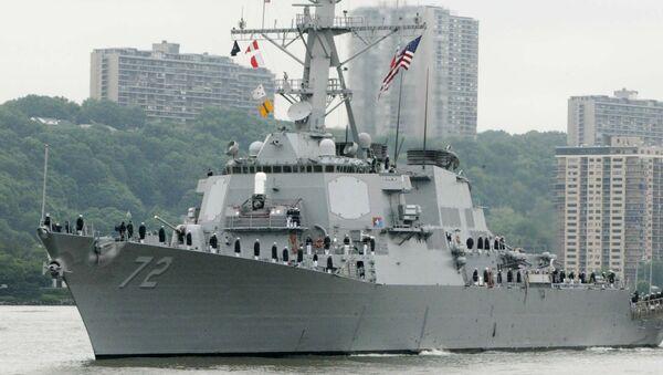 USS Mahan - Sputnik Türkiye