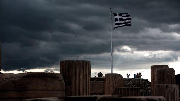 Yunanistan'ın başkenti Atina'daki Akropolis - Sputnik Türkiye